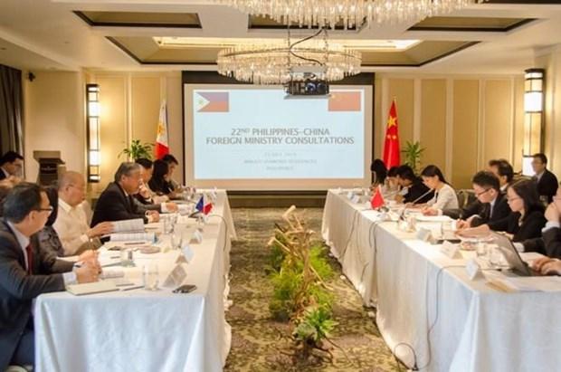 La 22e consultation diplomatique entre les Philippines et la Chine hinh anh 1