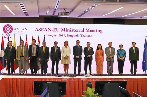 ASEAN-UE : Declaration commune sur la cooperation de la cyber-securite hinh anh 1
