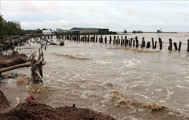 Kien Giang : de fortes pluies causent de lourds degats hinh anh 1