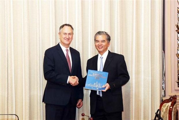HCM-Ville et le groupe VISA cooperent dans l'edification d'un systeme de paiement en ligne hinh anh 1