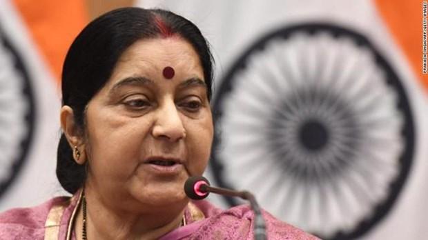 Deces de l'ancienne cheffe de la diplomatie indienne: message de condoleances du Vietnam hinh anh 1