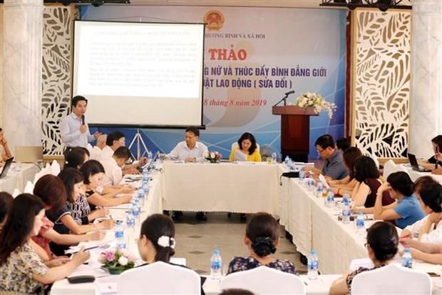 Les politiques pour les femmes travailleuses et la promotion de l'egalite des sexes hinh anh 1