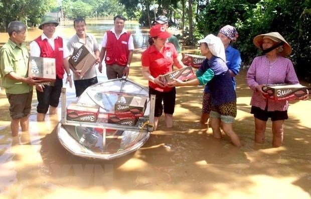 Crues: La CRV accorde des aides d'urgence aux victimes a Tay Nguyen et au Sud hinh anh 1