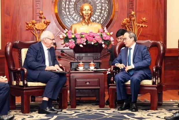 La SFI soutient Ho Chi Minh-Ville dans l'edification de la ville intelligente hinh anh 1