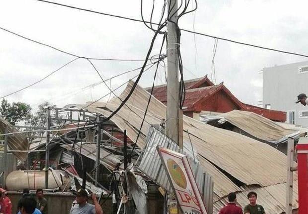 Cambodge : au moins 13 blesses dans l'explosion d'un camion-citerne hinh anh 1