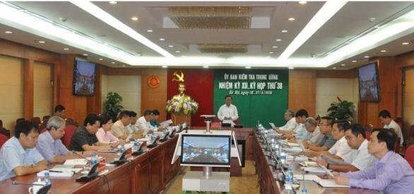 La Commission du controle du Comite central du Parti tient sa 38e reunion hinh anh 1
