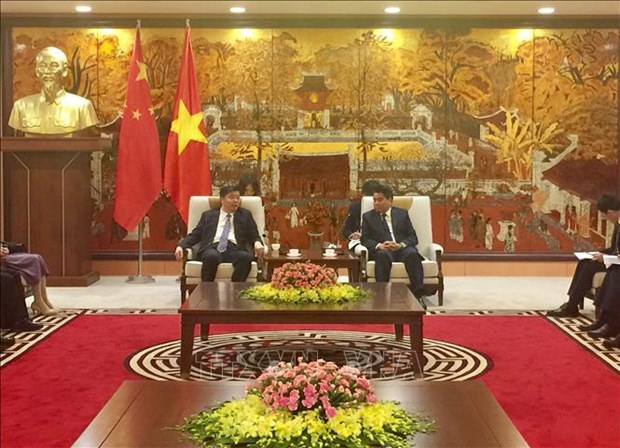 Hanoi booste sa cooperation avec la province chinoise du Guangdong hinh anh 1