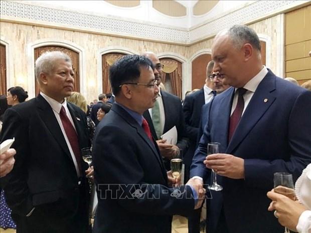 La Moldavie tient en haute estime les relations avec le Vietnam hinh anh 1