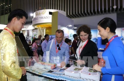 Le Salon touristique international de Ho Chi Minh-Ville 2019 attire plus de 30.000 visiteurs hinh anh 1