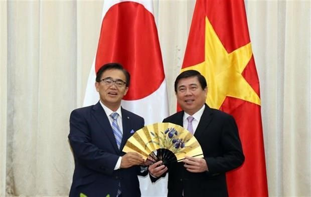 Ho Chi Minh-Ville et la prefecture japonaise d'Aichi dynamisent leur cooperation hinh anh 1