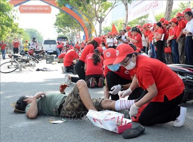 La Journee mondiale des premiers secours 2019 celebree a Da Nang hinh anh 1