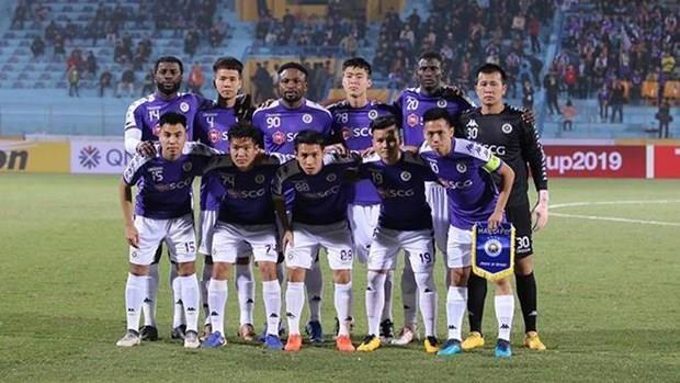 Finale interzonale de la Coupe de l'AFC 2019 : match nul entre Hanoi FC et 25.4 SC hinh anh 1