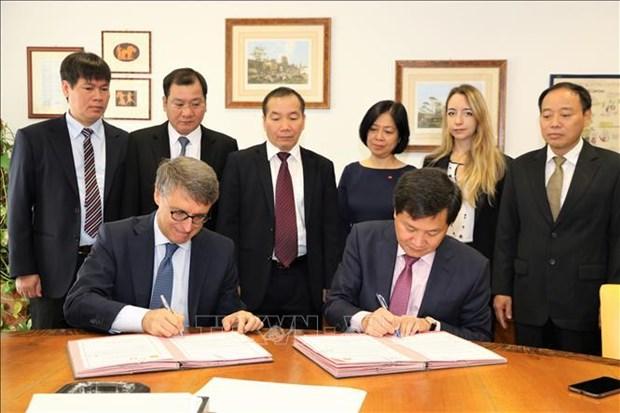 Le Vietnam et l'Italie stimulent leur cooperation dans la lutte contre la corruption hinh anh 1