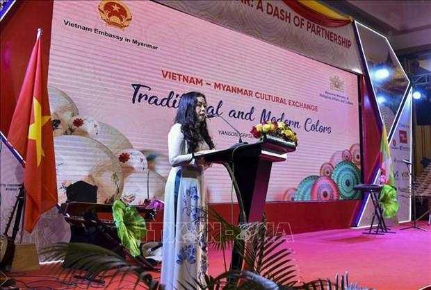 Semaine de la culture vietnamienne au Myanmar hinh anh 1