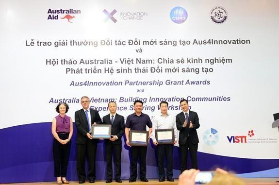 Remise des prix pour le partenariat dans l'innovation Aus4Innovation hinh anh 1