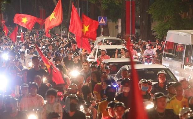 Les medias asiatiques louent la victoire du Vietnam face a la Malaisie hinh anh 1