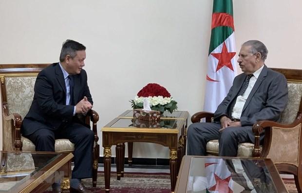 Le president du Conseil de la nation de l'Algerie veut promouvoir la cooperation avec le Vietnam hinh anh 1