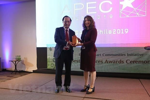 Prix des bonnes pratiques de l'APEC : un Vietnamien a l'honneur hinh anh 1