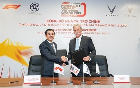 F1 : VinFast devient le sponsor officiel du Grand Prix du Vietnam hinh anh 1