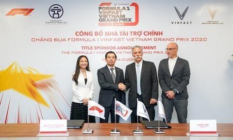 F1 : VinFast devient le sponsor officiel du Grand Prix du Vietnam hinh anh 3