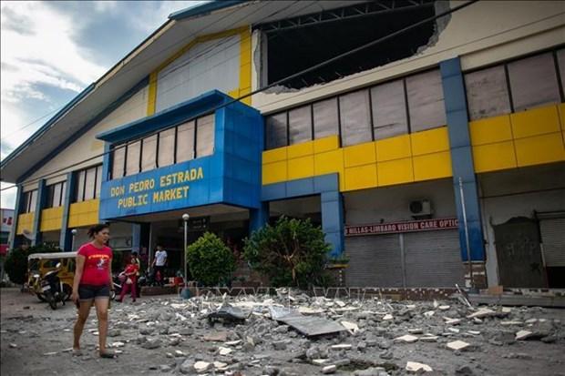 Philippines: seisme de magnitude 6,4 a Mindanao, trois personnes tuees hinh anh 1