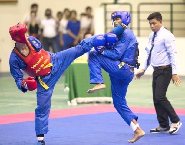 400 sportifs en lice pour le 26e Tournoi national de Vovinam Viet Vo Dao hinh anh 1