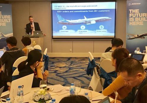 Le Vietnam sera un moteur de developpement aerien en Asie du Sud-Est, selon Boeing hinh anh 1