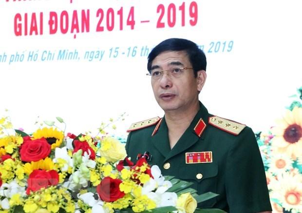 Une delegation militaire de haut rang du Vietnam en visite officielle au Cambodge hinh anh 1