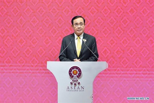 Le Premier thailandais annonce les resultats du 35e Sommet de l'ASEAN et des reunions connexes hinh anh 1
