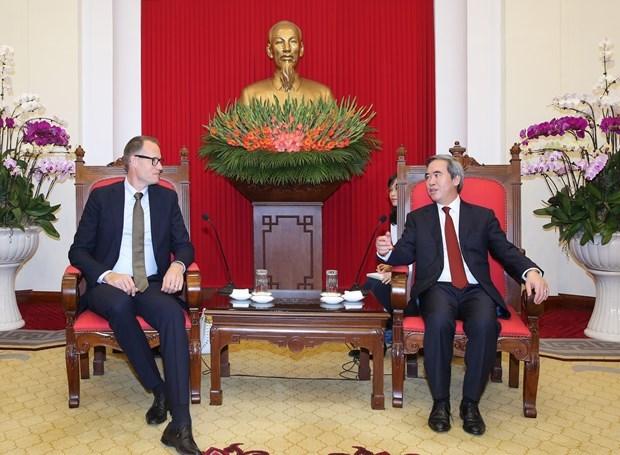 Les entreprises danoises souhaitent investir dans les energies renouvelables au Vietnam hinh anh 1