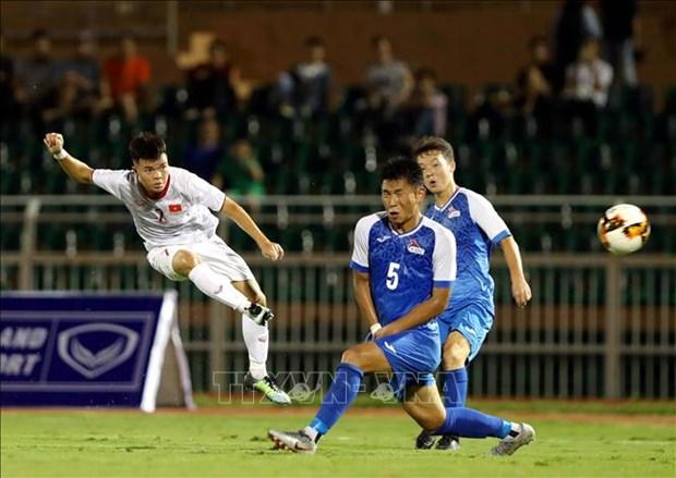 Championnat d'Asie de football U19 : le Vietnam bat la Mongolie 3 a 0 hinh anh 1