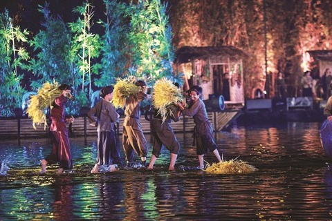 Grand spectacle vivant en plein air : nouvelle vogue au Vietnam hinh anh 3