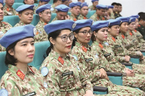Des femmes medecins vietnamiennes pour la paix au Soudan du Sud hinh anh 1