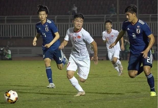 Le Vietnam remporte un billet pour la finale du Championnat d'Asie de football U19 hinh anh 1