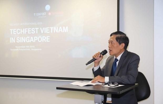 Le Vietnam et Singapour promeuvent la connexion dans l'innovation et la startup hinh anh 1