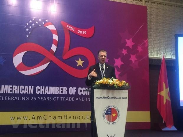 L'AmCham s'engage a servir de passerelle reliant les entreprises americaines au Vietnam hinh anh 1