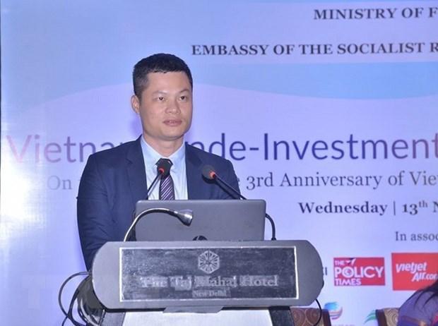 Le Vietnam pourra etre la porte d'entree des entreprises et marchandises indiennes hinh anh 2