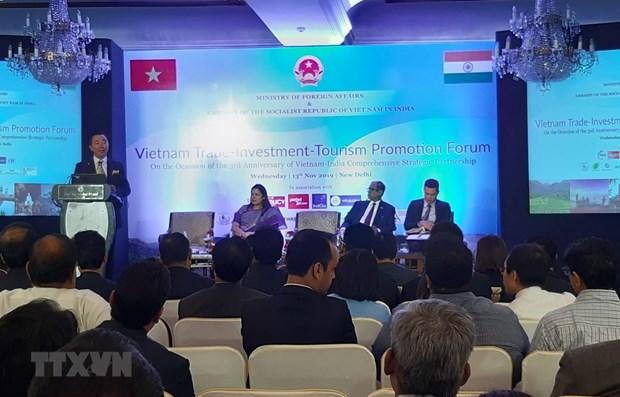Le Vietnam pourra etre la porte d'entree des entreprises et marchandises indiennes hinh anh 1