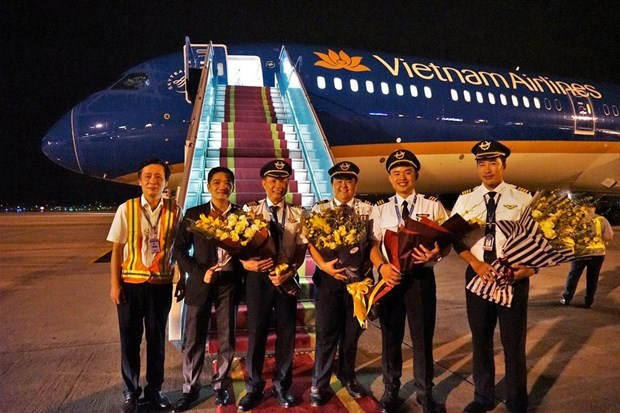 Vietnam Airlines recoit son premier Boeing 787-10 Dreamliner hinh anh 3