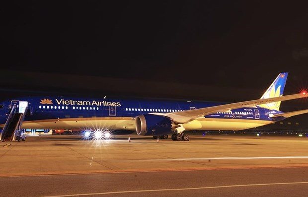 Vietnam Airlines recoit son premier Boeing 787-10 Dreamliner hinh anh 1