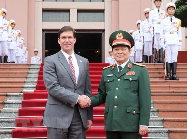 Le Vietnam et les Etats-Unis intensifient leur cooperation dans la defense hinh anh 1