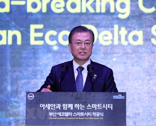 Le president sud-coreen appelle a une cooperation culturelle entre la R. de Coree et l'ASEAN hinh anh 1