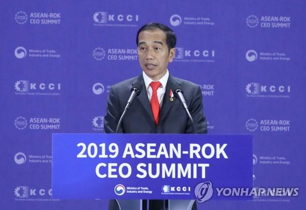 R. de Coree et Indonesie conviennent de promouvoir leur cooperation dans les infrastructures hinh anh 1