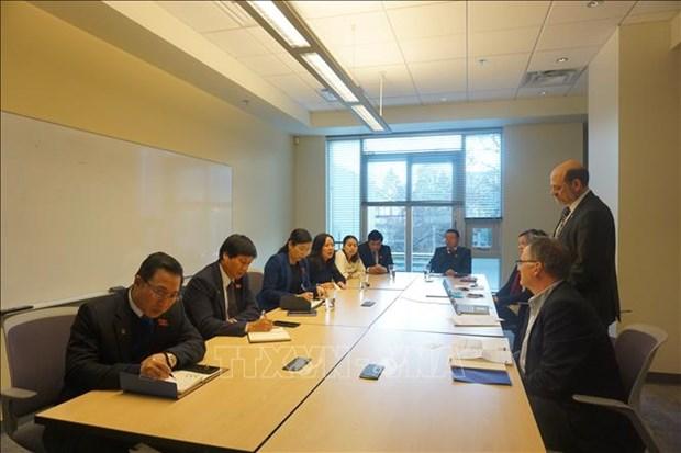 Promouvoir la cooperation parlementaire entre le Vietnam et le Canada hinh anh 1