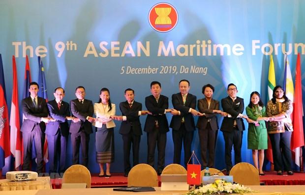 Ouverture du 9eme Forum maritime de l'ASEAN a Da Nang hinh anh 1