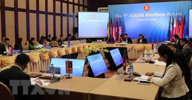 Ouverture du 9eme Forum maritime de l'ASEAN a Da Nang hinh anh 2