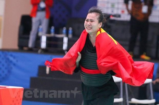SEA Games 30 : journee de competition reussie pour le pencak silat du Vietnam hinh anh 1