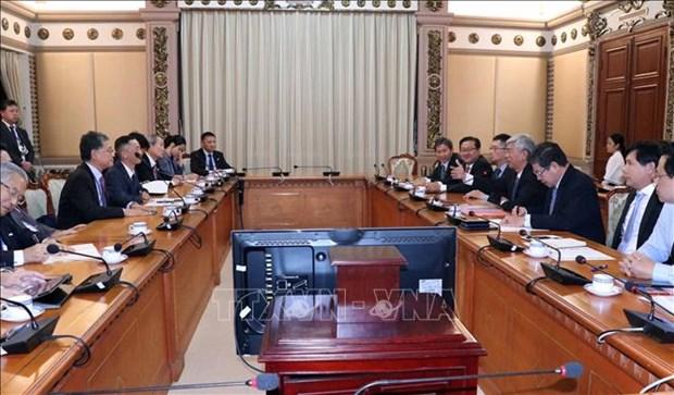 Ho Chi Minh-Ville souhaite intensifier sa cooperation avec les entreprises japonaises hinh anh 1