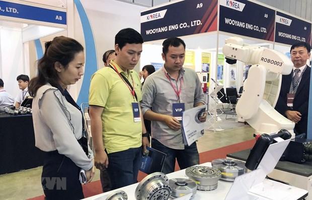 Ouverture des expositions internationales sur l'industrie auxiliaire a Ho Chi Minh-Ville hinh anh 1
