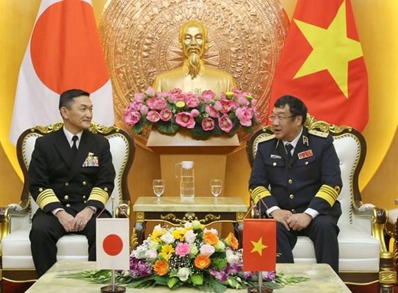 Les Marines vietnamienne et japonaise intensifient leur cooperation hinh anh 1
